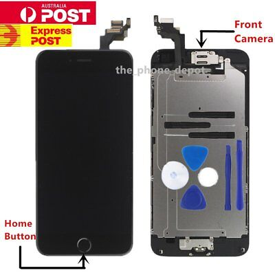 "Replacement For iPhone 6 LCD 4.7"" Touch Screen Home Button Camera Digitizer AU"