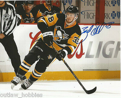 Pittsburgh Penguins Zach Sill Signed Autographed 8x10 NHL Photo COA D