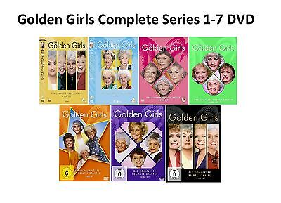Golden Girls Complete Series 1-7 DVD Season 1 2 345 6 7 Collection UK Compatible