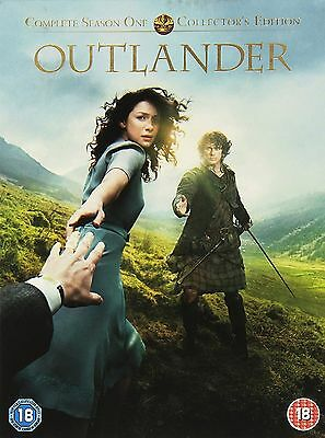 Outlander Complete Series 1 DVD Out Lander First Season Original UK Release R2