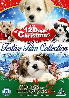 The 12 Dogs Of Christmas Festive Film Collection DVD Box Set UK Region 2 NEW