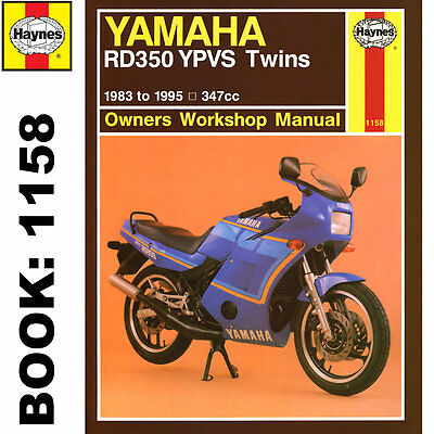 Yamaha RD350 YPVS Twins 1983-95 Haynes Workshop Manual