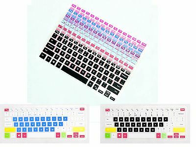 Color Keyboard Protector For Dell Inspiron 15 7000 2-in-1 i7568 i7569 i7579