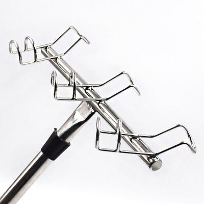 Stock 3 Way Rod Holders 316 Stainless Steel Fishing Holder For Boat Marine Great