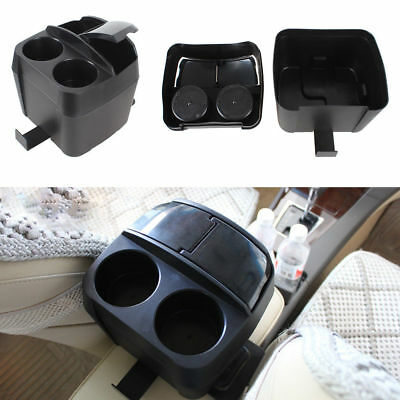 Multifunction 3 in 1 Black Car Cup Holder Drink Bottle Can Trash Dustbin UK