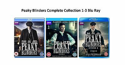 Peaky Blinders Complete Series Collection 1-3 BluRay Season 1 2 3 UK Release New