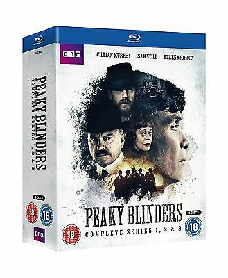 Peaky Blinders Complete Series Collection 1-3 Blu Ray Boxset Season 1 2 3 UK New