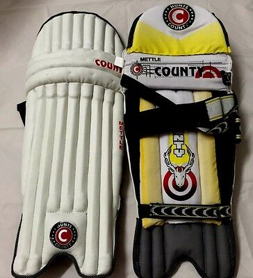Hunts County Youths Mettle Batting  Leg Guards Bnip Rrp £25