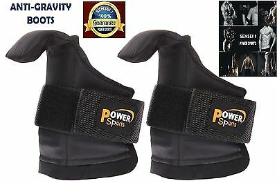 Anti Gravity Inversion Boots Ab Crunch Abdominal Sit Up Hooks Bar Therapy Core