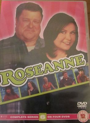 Roseanne Complete Series 6 DVD All Episode 6th Sixth Season UK Compatible NEW R2