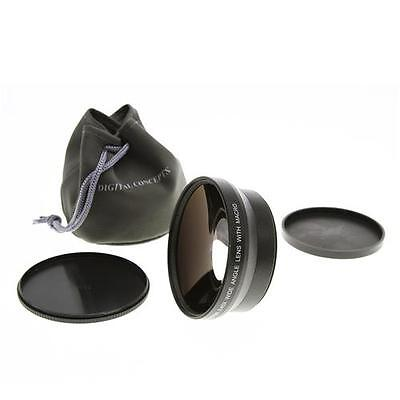 Digital Concepts 0.45x Wide Angle Converter Lens W/Macro For 72MM Thread