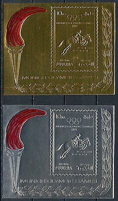 Fujeira 1972.  Airmail - Olympic Games - Munich, Germany