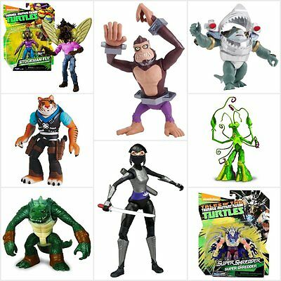 Nickelodeon Teenage Mutant Ninja Turtles Basic Tales Figures Assortment New 2017