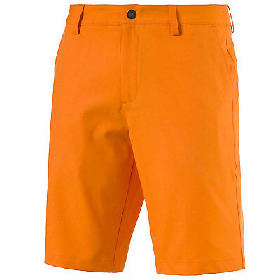 PUMA GOLF HERREN SHORTS MEN'S dry CELL ESSENTIAL POUNCE SHORTS VIBRANT ORANGE