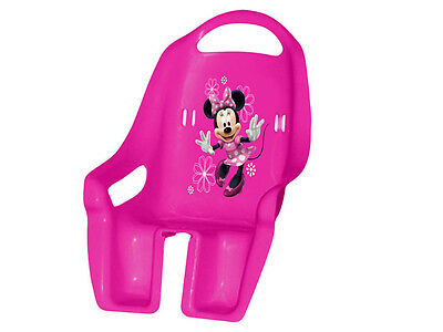 Bike seat for doll Minnie Mouse pink colorful for little girl