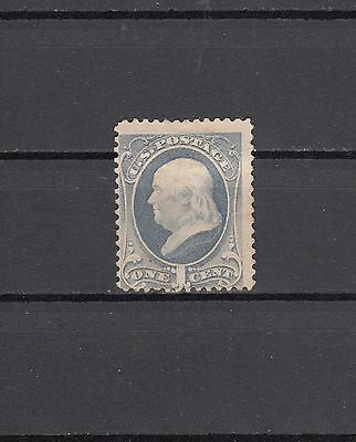 USA 1870-1871 Franklin 1 C Sc 145 MNG
