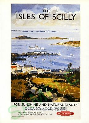 Poster of Isles of Scilly, RMV Scillonian at St. Marys