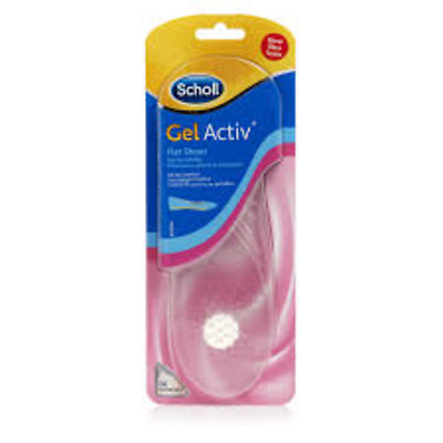 Scholl Gel Activ Insoles FLAT SHOES- ALL DAY COMFORT