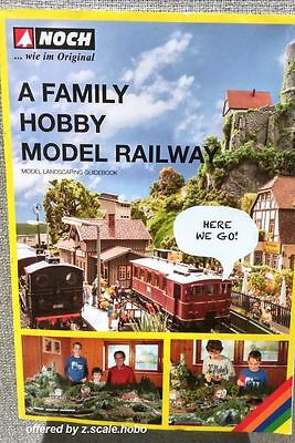 Noch 71905 Family Friendly Train Layout Planning Guide Book Manual English *NEW