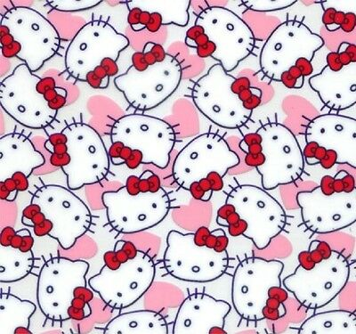 Hydrographic Water Transfer Hydrodipping Film Hydro Dip Hello Kitty 1Sq