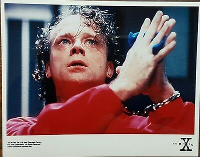 """The X Files 8x10 Color Promotional Photo episode """"Beyond the Sea"""" BRAD DOURIF"""