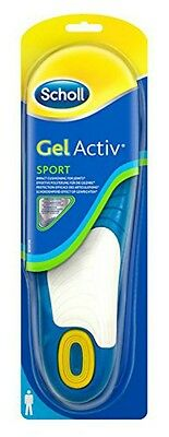 Scholl Gel Activ Insoles SPORT - HELPS REDUCE EXCESSIVE PRESSURE OF  SPORTS