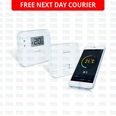 SALUS SMART PHONE INTERNET CONTROLLED HEATING THERMOSTAT RT310i 5 YEAR WARRANTY
