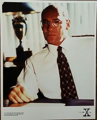 The X Files 8x10 Color Promotional Photo MITCH PILEGGI as Walter Skinner