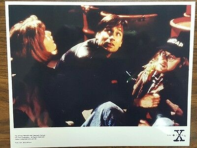 """The X Files 8x10 Color Promotional Photo episode """"Fallen Angel"""" Gillian Anderson"""