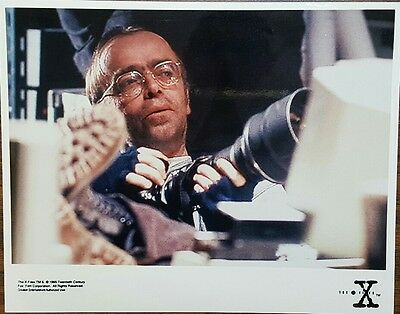 The X Files 8x10 Color Promotional Photo LONE GUNMEN Tom Braidwood FROHIKE