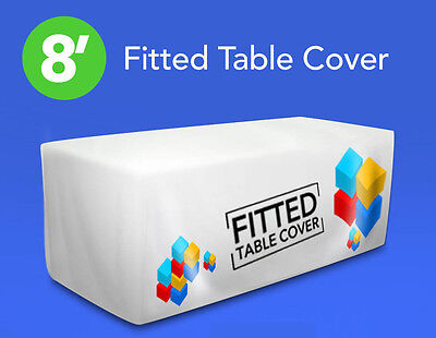 8' Fitted Table Cover
