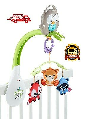 Baby Musical Crib Mobile Toy Bed Lullaby Music Arm Bracket Mount Hanging