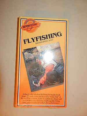 1989 Flyfishing Vhs Film By World Class Sport Fishing Eastern Brook Trout Sealed