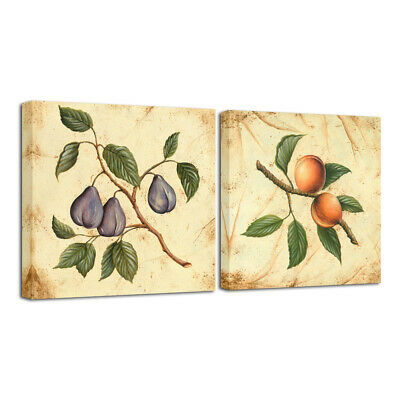 Canvas Print Painting Picture Poster Home Decor Wall Art Fruit Still Life Framed