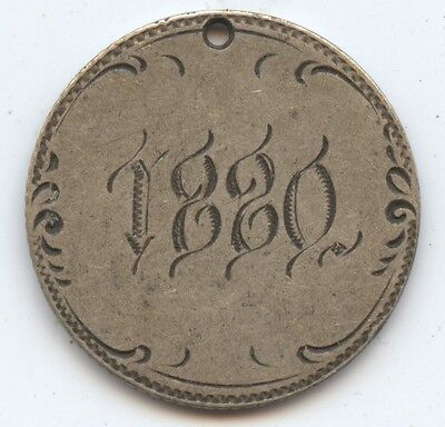Love Token 1875 Seated Dime (#6751) Carefully Check out the Photos.