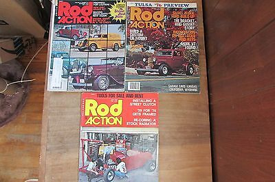 Rod Action Magazines and other magazines Cars