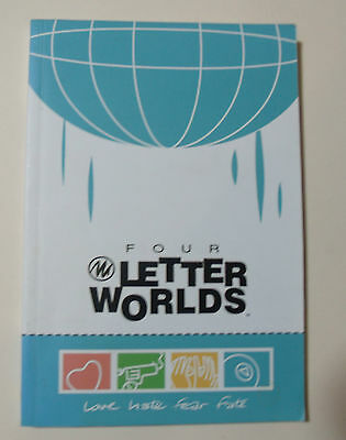 Four Letter Worlds  GRAPHIC NOVEL Book Amber Benson Image Comics Anthology VG