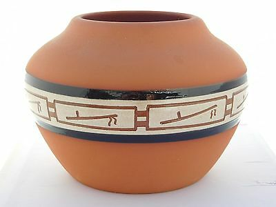 Native American Sioux Pottery Vase