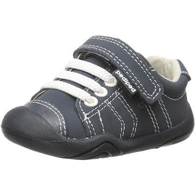 Pediped Grip n Go Jake Navy Nubuck First Walkers Shoes