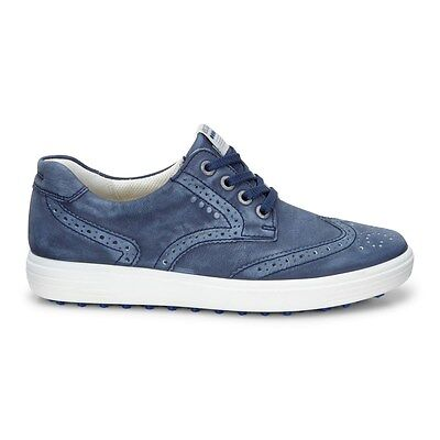 Ecco Womens Casual Hybrid Golf Shoes Navy Extra Width Option. Size 39 (UK 6)