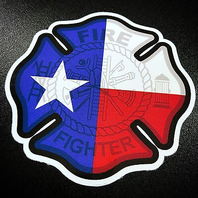 Texas Firefighter- Sticker
