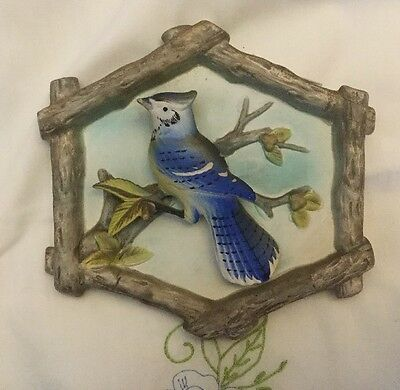 Inarco  Blue Jay  Wall Plaque