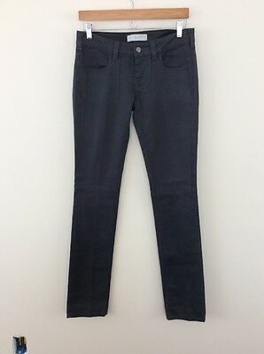 Stella McCartney Made In Italy Gray Washed Black Skinny Jeans size 28