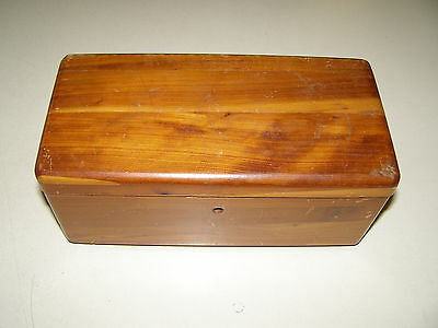 Vintage Lane Small Wood Cedar Chest Hall Furniture Company, VA No Key or lock