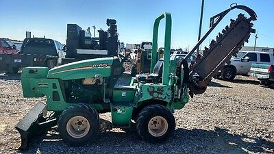 2011 Ditch Witch RT45 Side Shift Riding Trencher
