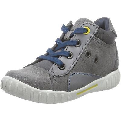 Ecco Mimic Titanium Suede First Walkers Shoes