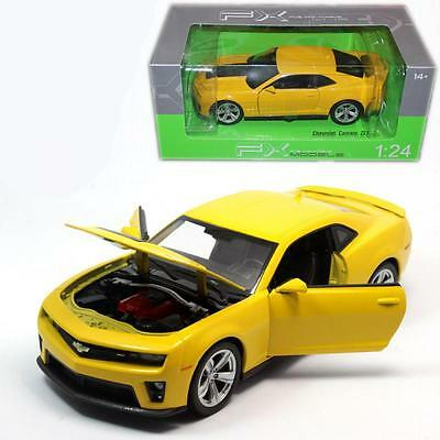 Diecast Chevrolet Camaro ZL1 1:24 Die Cast Model Car From Welly