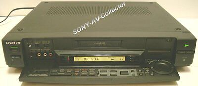 Sony EV-S5000 Hi8 Video8 8mm Video 8 Player Recorder RCTC Editing VCR Deck EX