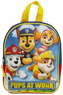Paw Patrol Toddler Backpack Blue Small School Bookbag Preschool Little Boys Kids