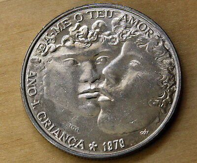 1979 Portugal 25 Escudos International Year of the Child Unc.